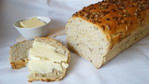 Chleb owsiany ze słonecznikiem