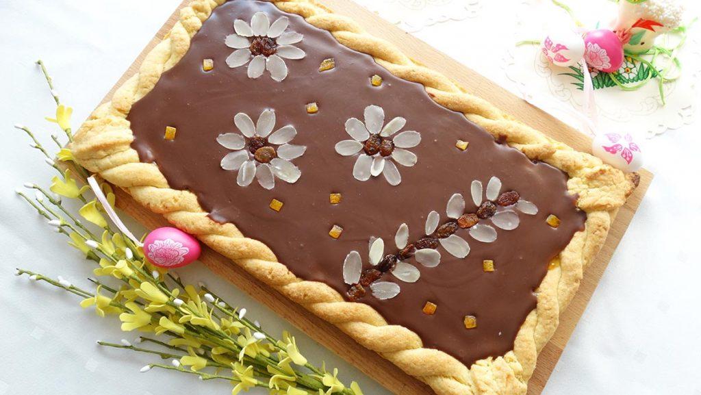 zdjęcie mazurka czekoladowego