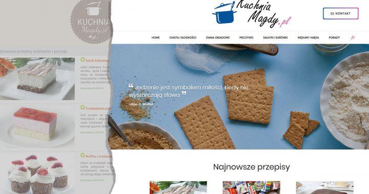 zdjęcie zrzutu ekranu storny