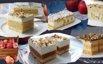zdjęcie ciast zjabłkami