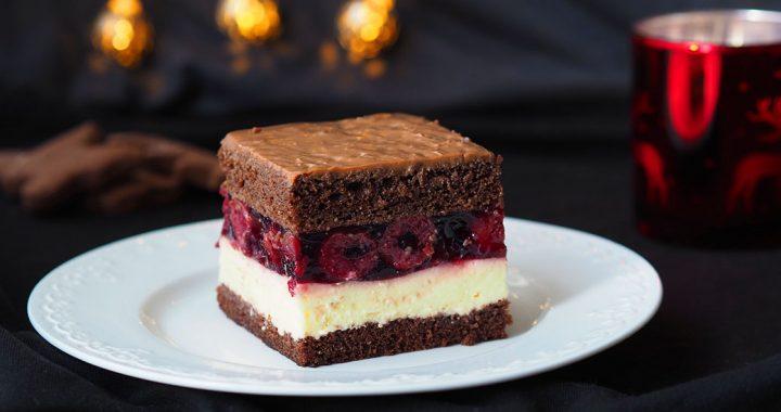zdjęcie ciasta wiśniowa fantazja