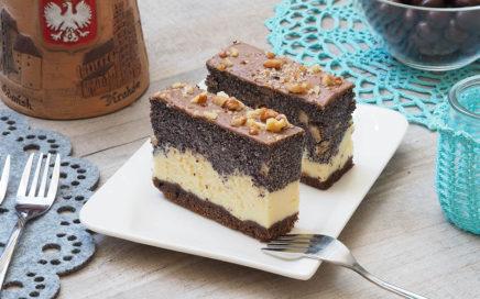 zdjęcie ciast onazwie sernikomakowiec