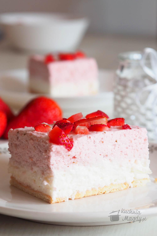 zdjęcie ciasta onazwie Truskawkowa bajka