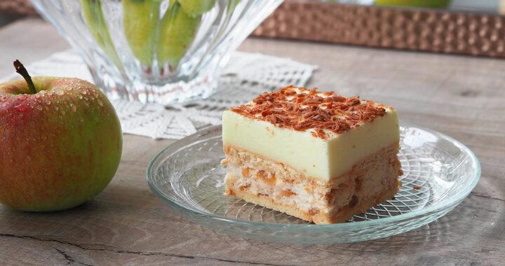 Ciasto karmelowe jabłuszko z cytrynką